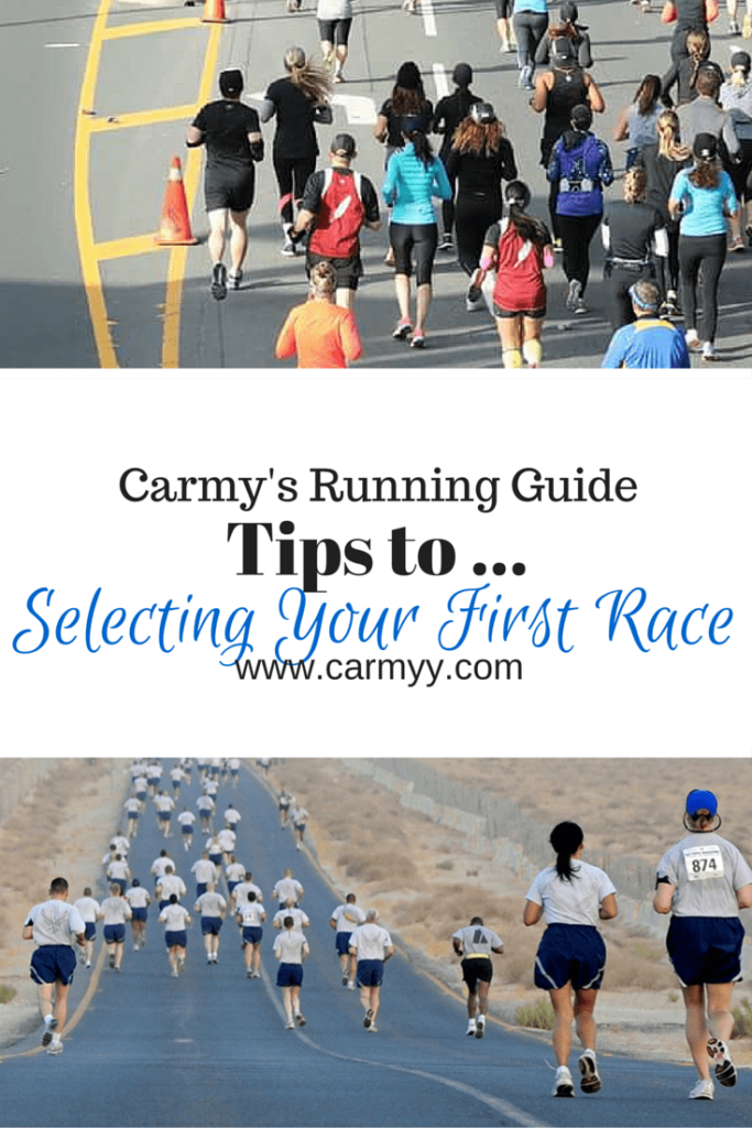What You Need To Know: Tips On Selecting Your First Race #running #fitness #tips @ http://www.carmyy.com/selecting-your-first-race