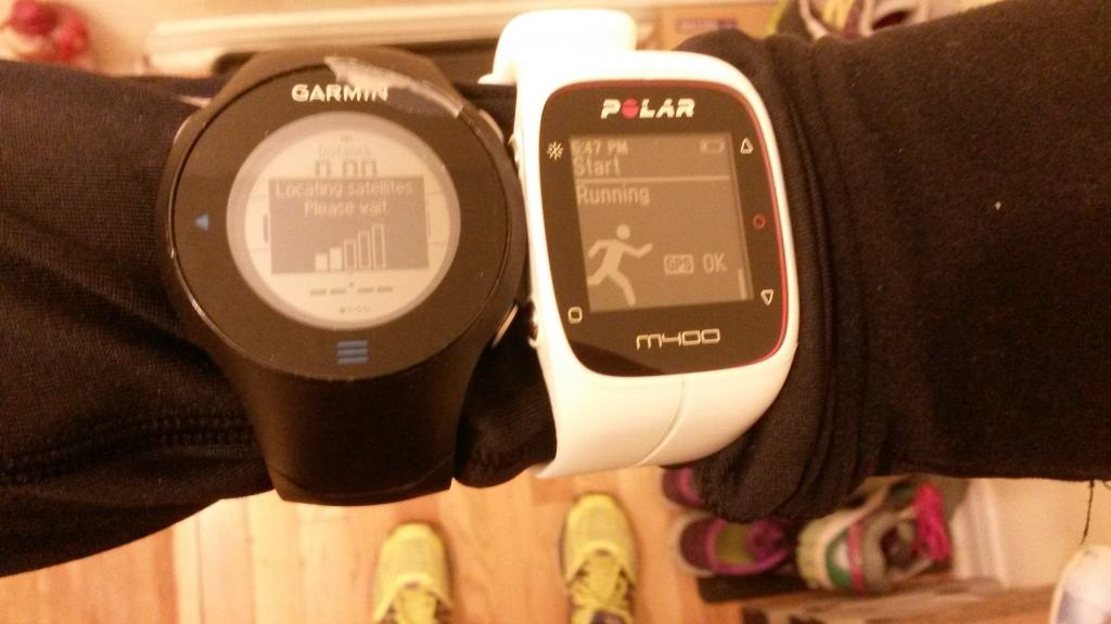 polar m400 review setup