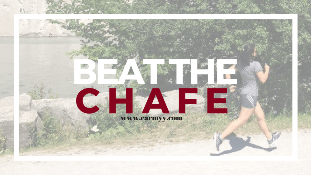 Embarrassing Running Problems. Beat the Chafe. www.carmyy.com