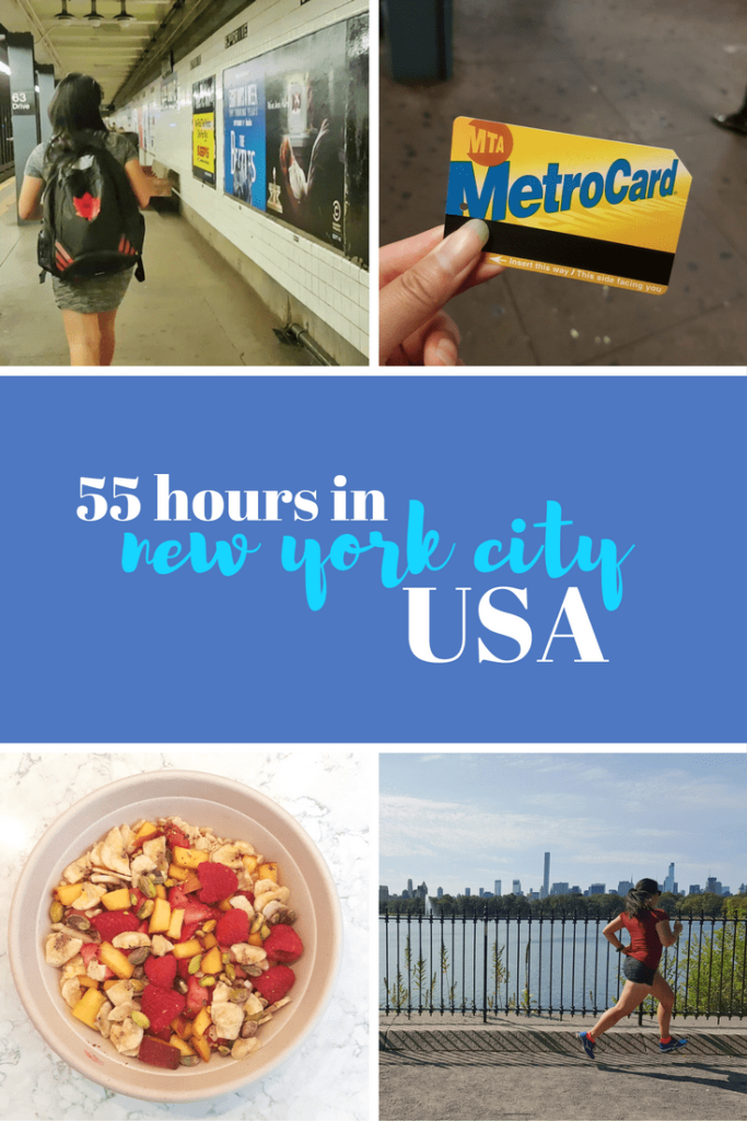 55 Hours in New York City