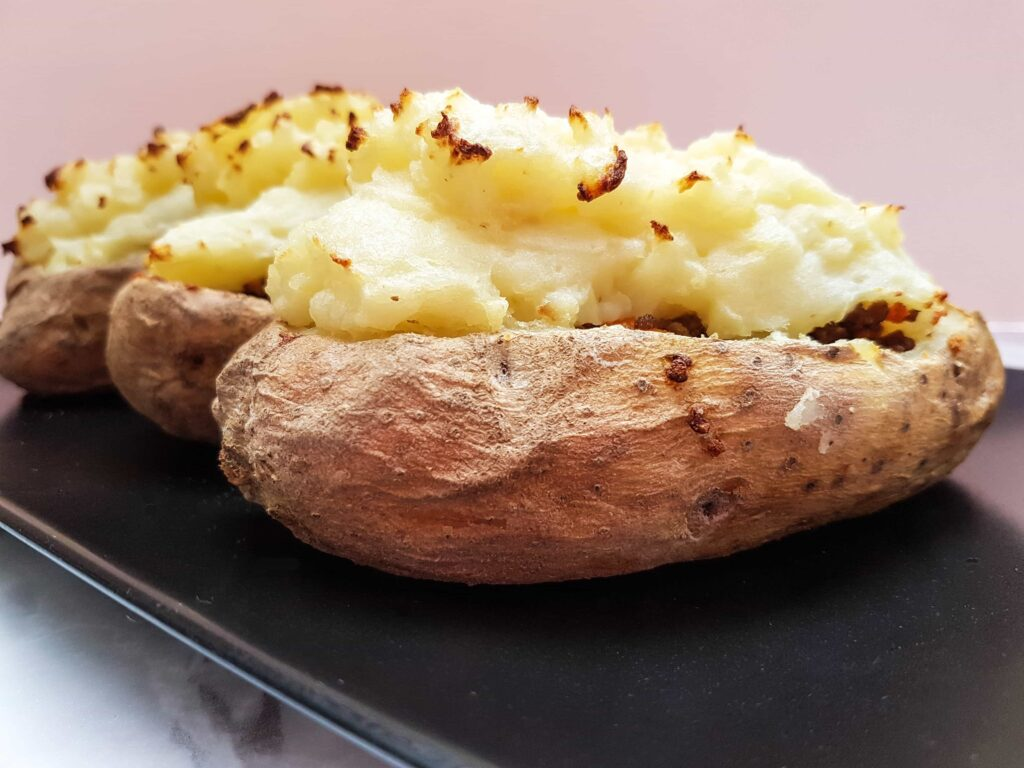 Cottage Pie Twice Baked Potato